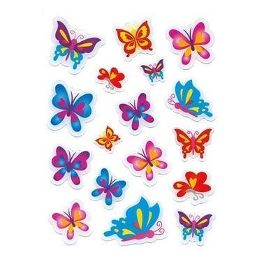 Herma Çocuk Etiketleri Kelebekler Taş Etiket Renkli